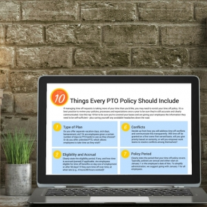 10 things to include in PTO policy