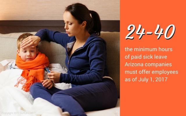 Arizona Paid Sick Leave Statistic