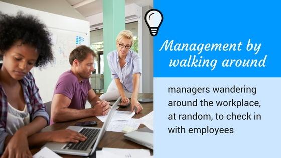 MWBA - Management By Walking Around
